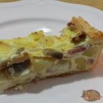 Pizza Rustica Funghi Patate e Speck