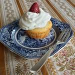 Muffin Panna e Fragole