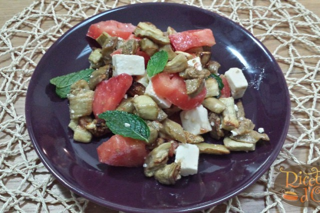 insalata-melanzane-feta-pomodorini