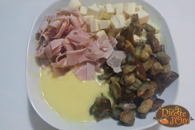 Torta Salata Melanzane Prosciutto Cotto e Provola01