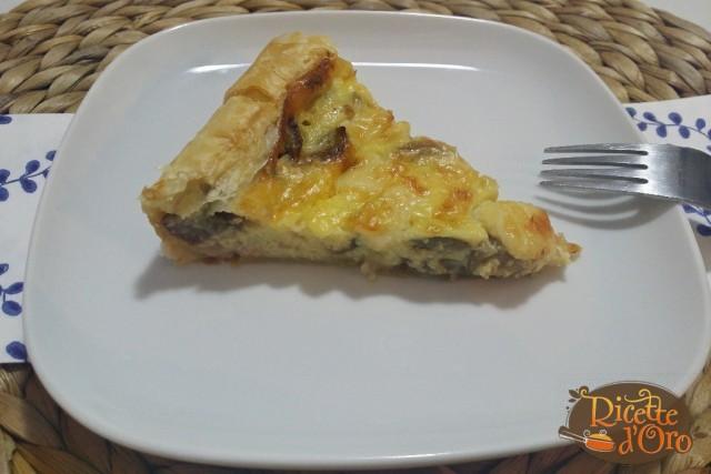Torta Salata Melanzane Prosciutto Cotto e Provola04
