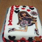 Torta di Compleanno Monster High
