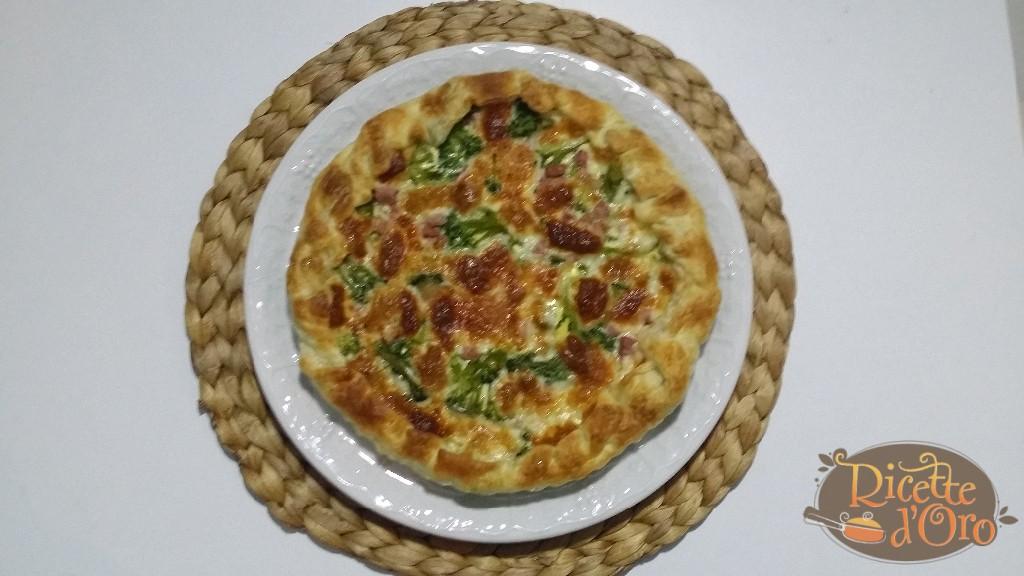 Torta-Salata-Broccoli-Asiago-Pancetta