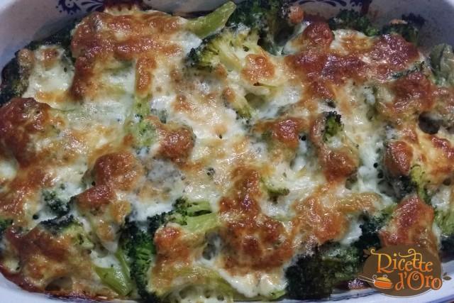 broccoli baresi gratinati