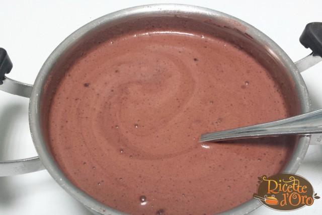 crema-al-cioccolato-mescolare