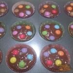 Muffins al Cioccolato e Smarties