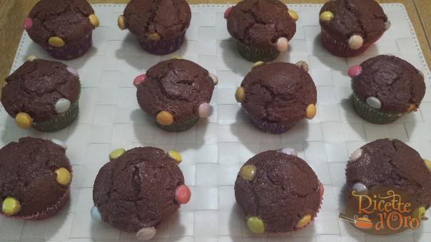 muffin-al-cioccolato-smarties1