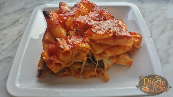 pasta alla siciliana al forno