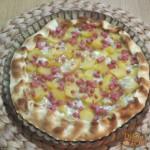 Torta Salata Patate, Gorgonzola e Prosciutto Cotto