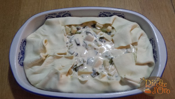 torta-salata-con-zucchine-cottura