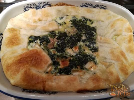 Torta Salata Spinaci e Salsiccia6